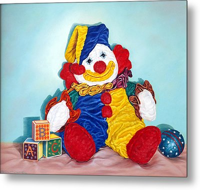 Clown Metal Print