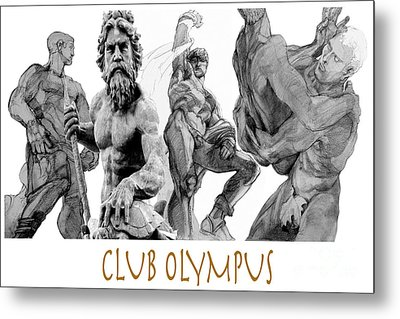 Club Olympus Metal Print by Greta Corens
