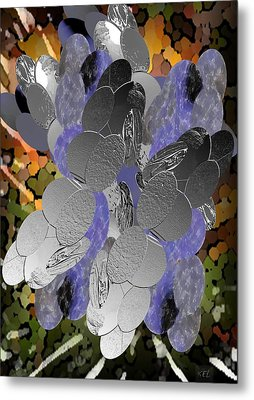 Cluster Metal Print by Kelly McManus