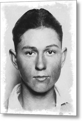Clyde Champion Barrow  1909 - 1934 Metal Print