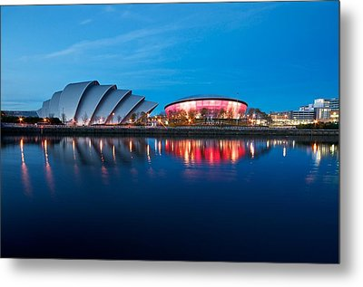 Clydeside Reflected Metal Print
