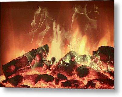 C'mon Baby Light My Fire Metal Print