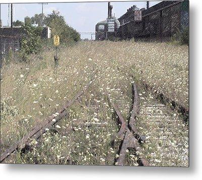 Cn Railroad 1 Metal Print by The Art of Marsha Charlebois