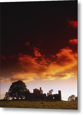 Co Meath, Bective Abbey, Ireland Metal Print by The Irish Image Collection