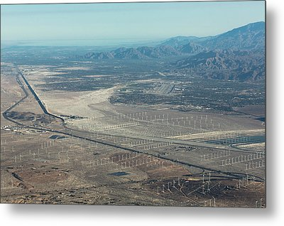 Coachella Valley Metal Print by John Daly