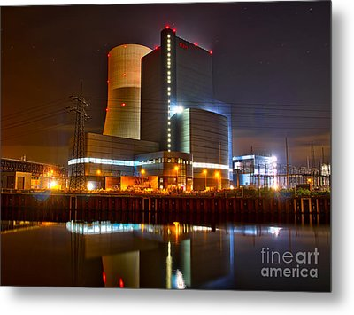 Coal Fired Powerhouse Metal Print