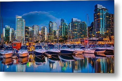 Coal Harbour Metal Print by Ian Stotesbury