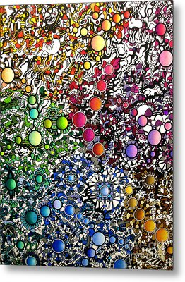 Coalescence Version 2 Metal Print by Devin  Cogger