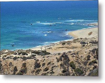 Metal Print featuring the photograph Coast Baja California by Christine Till