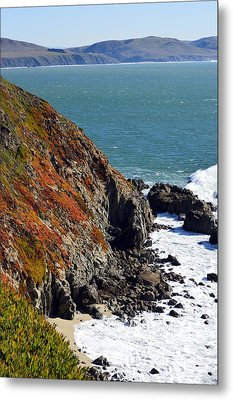Coast Metal Print by Brent Dolliver