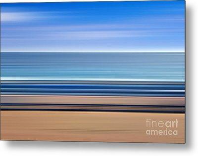 Coastal Horizon 1 Metal Print by Delphimages Photo Creations