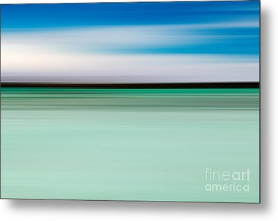Coastal Horizon 5 Metal Print by Delphimages Photo Creations