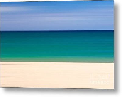 Coastal Horizon 8 Metal Print by Delphimages Photo Creations