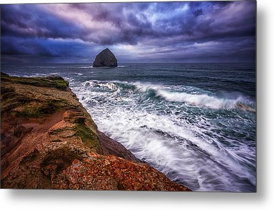 Coastal Madness Metal Print