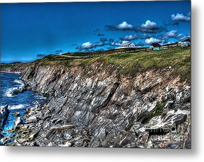 Metal Print featuring the photograph Coastal Nova Scotia by Joe  Ng
