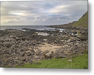 Coastal Stone Giant's Causeway -- Ireland Metal Print