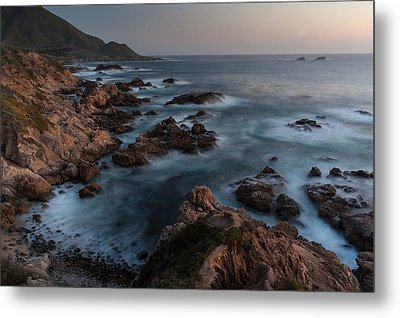 Coastal Tranquility Metal Print by Mike Reid