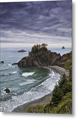 Coastal Views Metal Print by Andrew Soundarajan