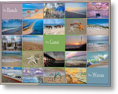 Coastal Winds Metal Print by Betsy Knapp