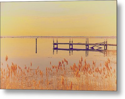 Coastal Winter Metal Print