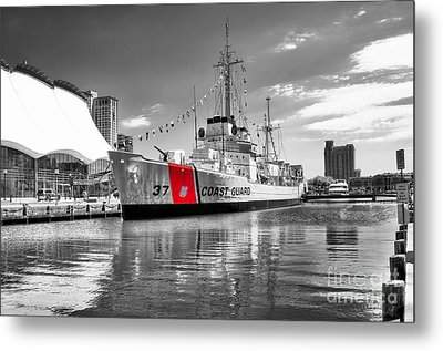 Coastguard Cutter Metal Print