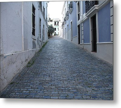 Metal Print featuring the photograph Cobble Street by David S Reynolds