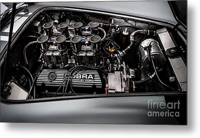 Metal Print featuring the photograph Cobra Engine by Matt Malloy