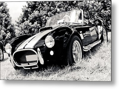 Cobra Sports Car Metal Print by Phil 'motography' Clark