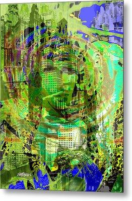 Cobwebs Of The Mind Metal Print