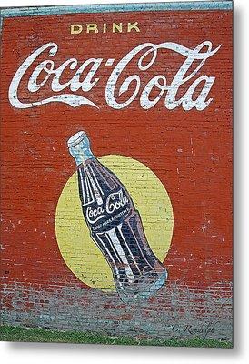 Coca-cola Metal Print by Cheri Randolph