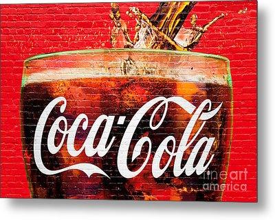 Coca Cola Metal Print by Luciano Mortula