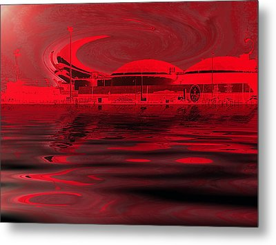 Code Red Metal Print by Wendy J St Christopher