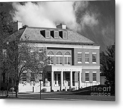 Coe College Mc Cabe Hall Metal Print by University Icons