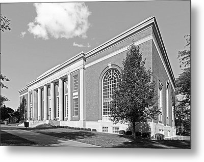 Coe College Stewart Memorial Library Metal Print by University Icons