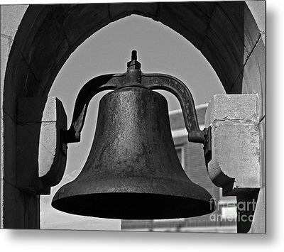 Coe College Victory Bell Metal Print by University Icons