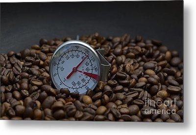 Coffee And Meter  Metal Print by Bobby Mandal