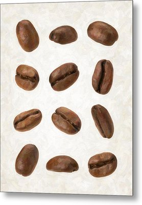 Coffee Beans Metal Print by Danny Smythe