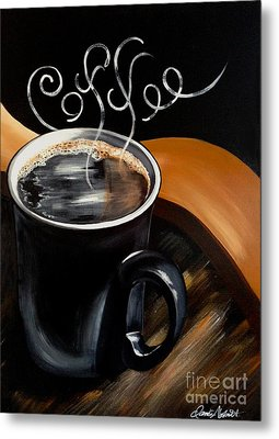 Coffee Break Metal Print by Dani Abbott