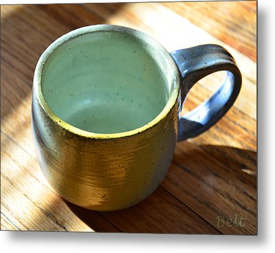 Coffee Connoisseur  Metal Print by Christine Belt
