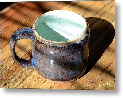 Coffee Connoisseur No.2 Metal Print by Christine Belt