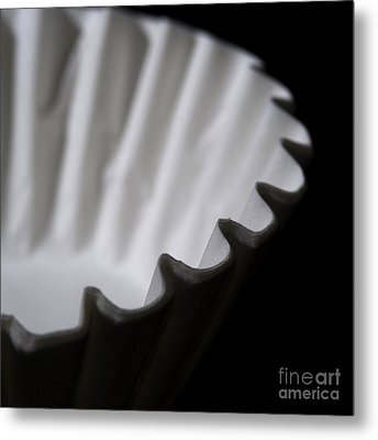 Coffee Filters Metal Print by Art Whitton