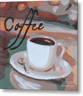 Coffee Metal Print