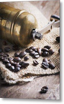 Coffee Mill Metal Print by Jelena Jovanovic