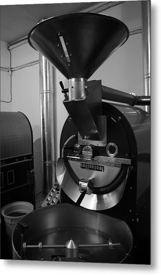Coffee Roaster Metal Print by Maeve O Connell
