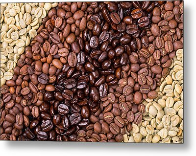Coffee Selection Metal Print by Jane Rix