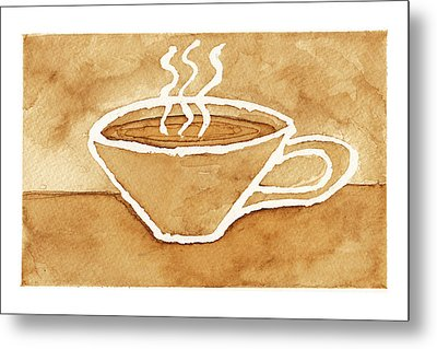 Coffee Metal Print by Tricia Griffith