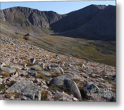 Coire An T' Sneachda - Cairngorm Mountains Metal Print by Phil Banks