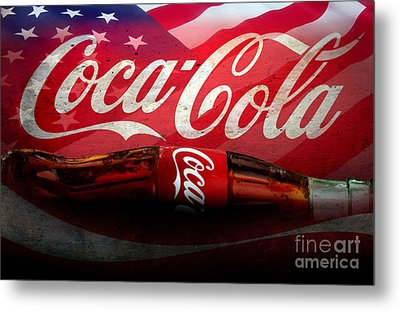 Coke Ads Life Metal Print