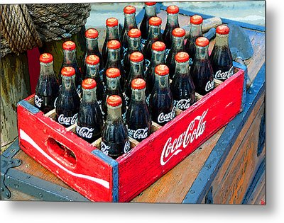 Coke Case Metal Print by David Lee Thompson