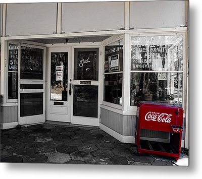 Metal Print featuring the photograph Coke by Randy Sylvia